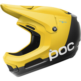 POC Coron Air Spin Casque, sulphite yellow